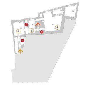 MAEC Cortona | mappa piano -2