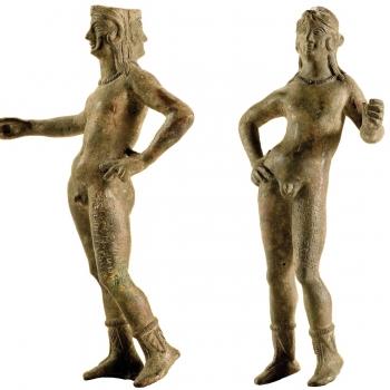 MAEC Cortona | Statuette in bronzo di culsans e selvans