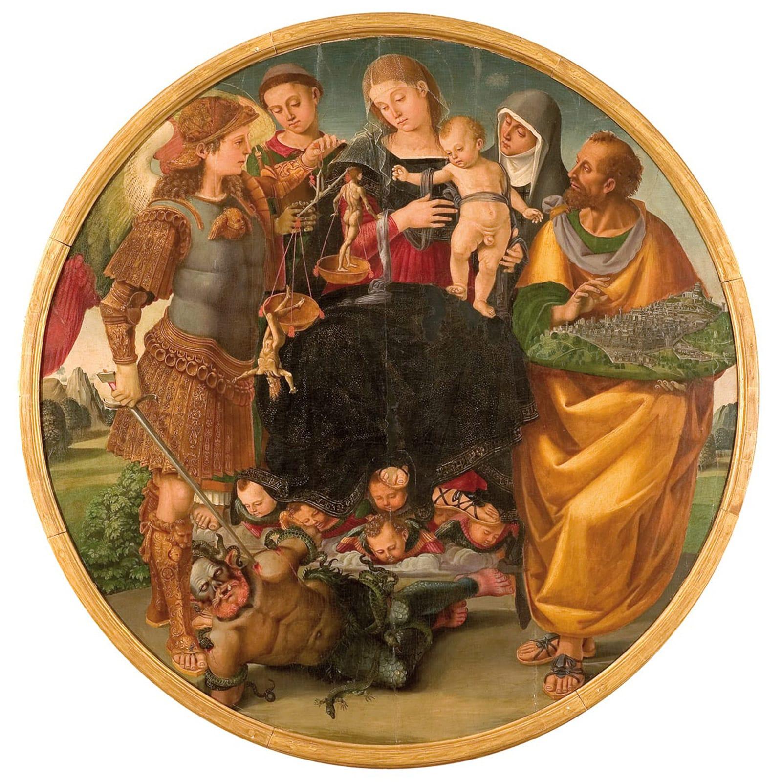 MAEC Cortona | Luca Signorelli, Madonna con Bambino e Santi
