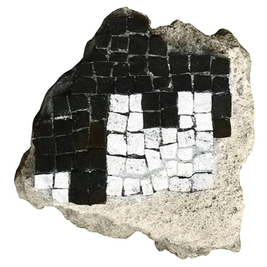 pavimentazione della Villa romana di Ossaia