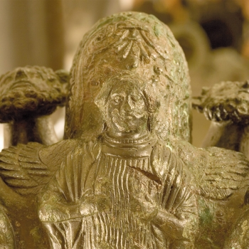 Il Lampadario Etrusco - particolare