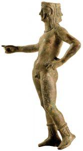 Statuetta di Culsans in bronzo