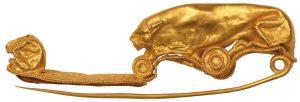 Fibula in oro