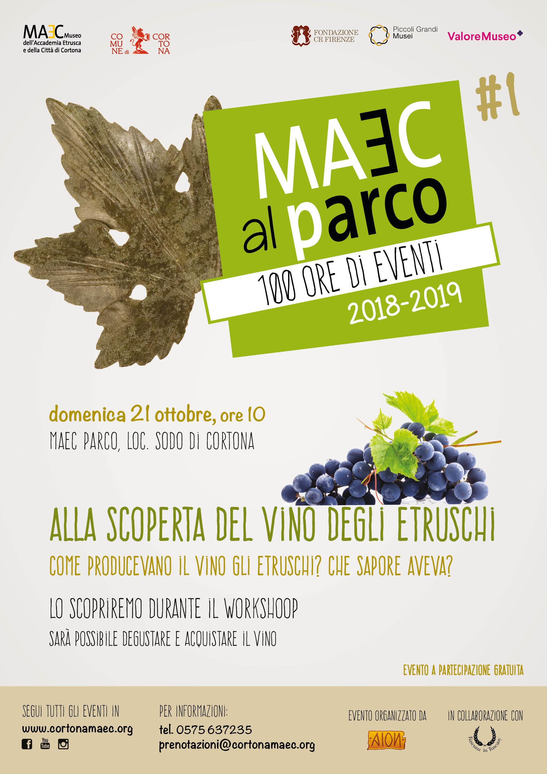 workshop per scoprire come gli etruschi producevano e conservavano il vino