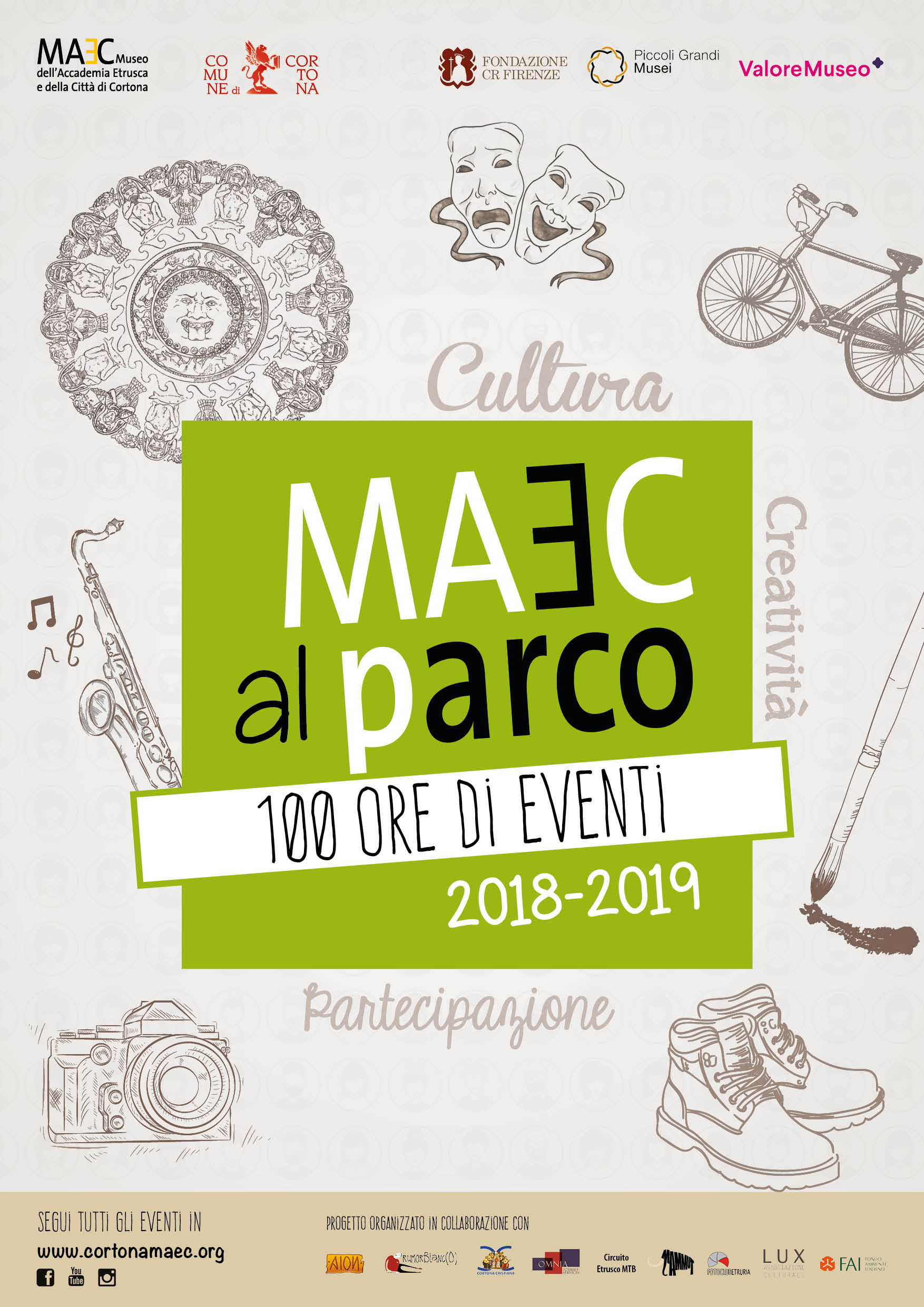 eventi gratuiti al MAEC parco, il Parco Archeologico di Cortons