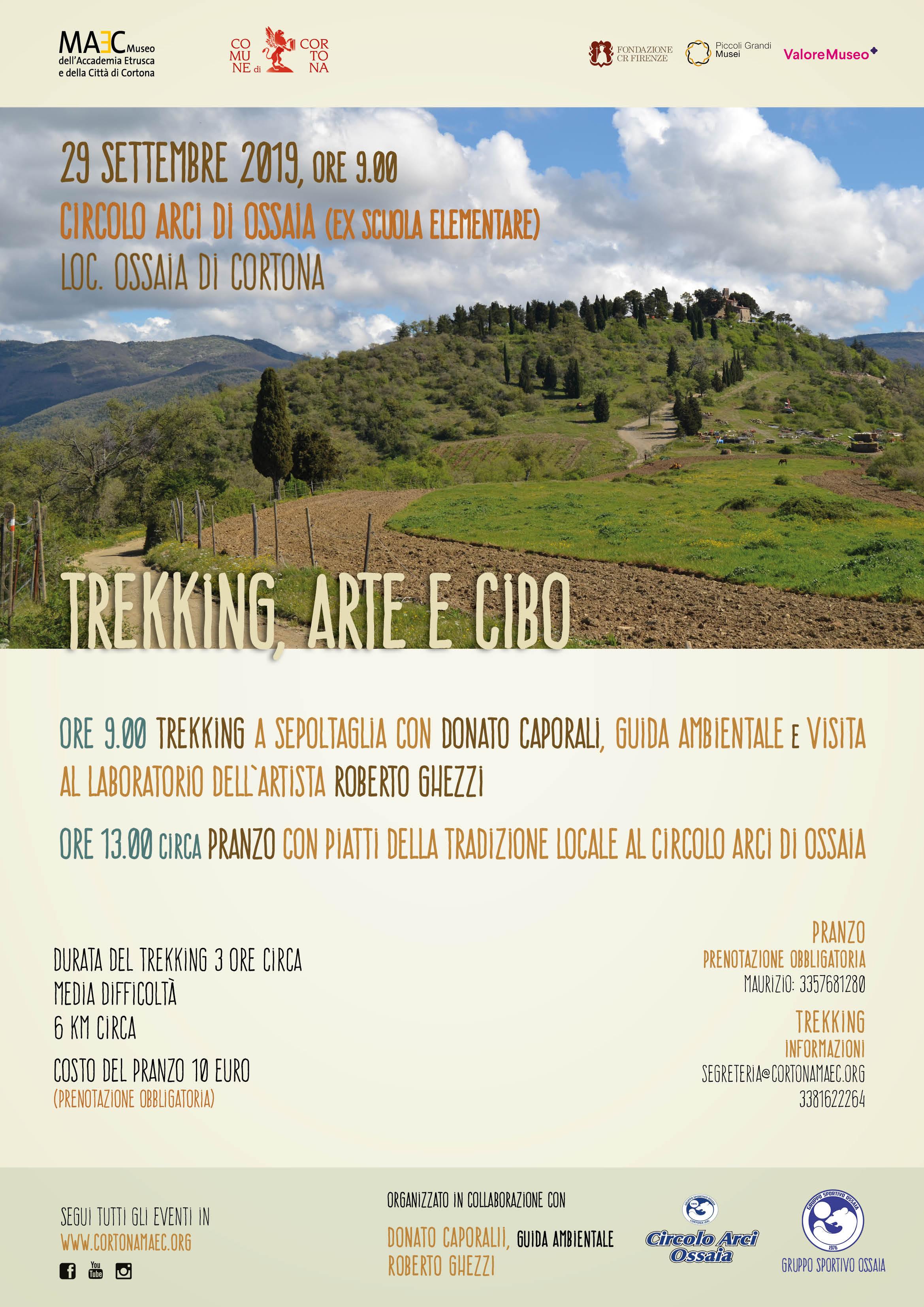 trekking arte e cibo